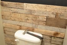 Toilet wall