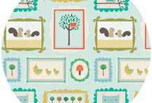 Fabrics for Sawyer's Room / by Alicia Case