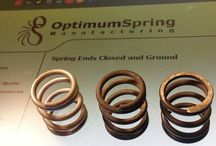 Compression Spring Ends / Compression Spring Ends:  Open and Not Ground, Open and Ground, Closed and Not Ground, Closed and Ground http://OptimumSpring.com/products/compression_springs.aspx#Compression Springs | End Treatment