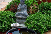 outdoor meditation space ideas
