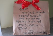 back to school ideas for kids / by Leigh Westbrook