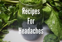Juice for headaches