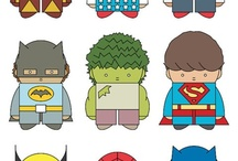 Superheroes and Villians / by Kristina Owens