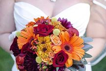 Wedding flowers / Fall bouquets