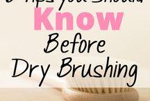 Tips for dry body brushing