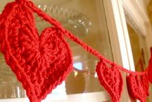 Crochet Garlands~Any Kind! / Anything strung up!