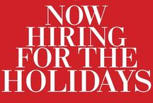 Seasonal Jobs / Tips & tricks to landing a seasonal job this holiday season. / by EmploymentGuide.com