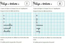 Écriture  Orthographe cp
