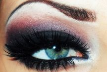 Glamour Looks ~ Eyes/Nails / Eyes, Nails and Makeup / by Penny Bingman