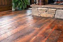 cabin or cottage flooring