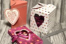 Stampin up happiness heart