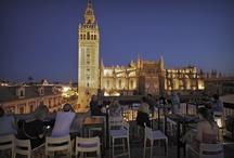 ¨La Terraza¨ Panoramic Bar /  Panoramic cocktail bar, to enjoy a 360º view to Sevilla