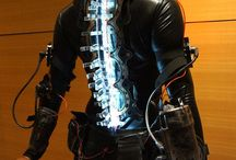 Cyberpunk suit & armor / Augmented body