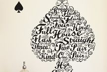 Lettering / Interesting type treatments or fonts / by Tiffany Stewart