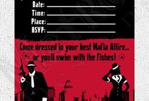 Italian mob mafia party theme