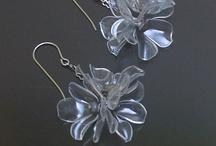 plastic earring