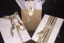 Gift decor ideas / This board consists of gifts I've wrapped and inspirational gift wrap ideas