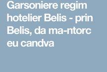 Garsoniere regim hotelier Belis