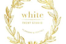 White Event Studio / White event studio is a company that provides full-planning services for boutique style weddings, social events and out-of-this-world marriage proposals. We specialize in designing and transforming all types of scenarios from weddings to corporate events, styled photo shoots, holiday set ups and home decor. We carry an extensive luxury rentals inventory with the most exclusive decor pieces, carefully curated from all around the world and brought to Canada just for you.