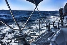 Sailing / Sailing, sea, boats, nature