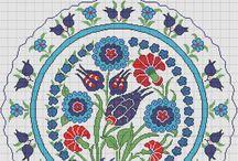 Filiz turkocagi  motifleri