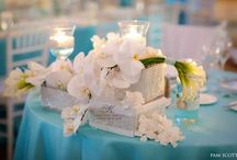 Bride and Groom Centerpieces