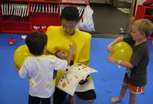 Angry Bird Party  / M.Y. Taekwondo's first Angry Bird party was a huge success! We're already excited for next year!
