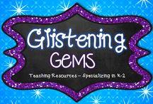 #18 Glistening Gems / Teaching resources from Glistening Gems!