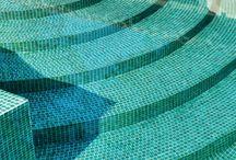 Mosaik för Pool / Poolmosaik för Poolen