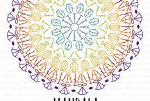 Hačkovaná Mandala