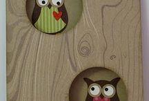 owl cards / cards