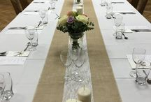 Oslava - dekorace stolu