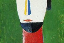 Kazimir  Malevich (Russian/ Ukrine.1879~1935) / by Yongsig Han