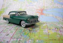 Vintage Road Maps, Posters and Postcards / Take a road trip down memory lane