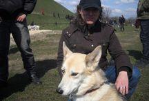 Ja i Luka <3 / Przepiękny pies Maćka :)