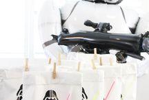 Star Wars Kindergeburtstag / Mottoparty, Spielideen, Dekoration für die Star Wars Party, DIY, Einladungen, Tischdekoration, Mitgebsel/Favorbags