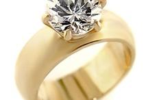 Wedding Rings / Silver is best on my skin tone.