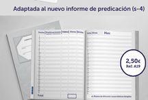 Nueva agenda 2016/2017 / Adaptada al nuevo informe de predicación (s-4) ¡De Regalo con tu pedido superior a 35€ ¡