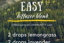 Essential Oil Diffuser Blends
