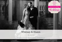 Featured Real Wedding: Whitney & Shawn {from the Summer/Fall 2014 Issue of Real Weddings Magazine} / Whitney & Shawn-Featured Real Wedding from the Summer/Fall 2014 issue of Real Weddings Magazine, www.realweddingsmag.com. Photos by/copyright Christopher Kight Photographers, www.KightPhoto.com; Bridal & Bridesmaids' Attire: House of Fashion, www.HoFBridal.com; Honeymoon Travel Agent: Divine Destination Weddings & Honeymoons, www.DivineDestinationWeddings.com. See more: http://www.realweddingsmag.com/featured-real-wedding-whitney-shawn-from-the-summerfall-2014-issue-of-real-weddings-magazine/