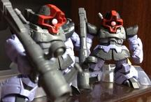 Gundam / Toys, figures, Gundam / by Satoru Nagayama