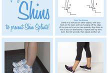 Shin workout / Workout
