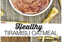 Cooked oatmeal / oatmeal