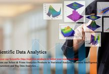 Scientific Data Analytics / Discover our Scientific Data Analytics solutions to better your research efforts...  Explore our Select & Prime Analytics Products in Statistical Analysis, Business Intelligence, Test & Measurement and Big Data Analytics…