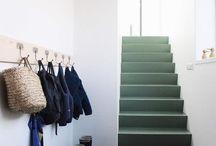 trap naar 1e etage