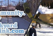 """community.mybackyardicerink.com / Join the <a href=""""http://community.mybackyardicerink.com"""">mybackyardicerink Rink Community:</a><br>A Social backyard ice rink community that connects people with backyard rinks. Features blogs, forum discussions, video & photo sharing with other rink members!  Help and be helped!"""