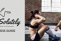 ABSolutely / The first e-fitness guide with secrets and tips for a flat belly