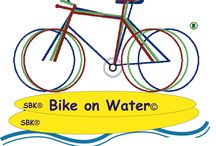 Bike on Water / A mesma liberdade... Agora na água...