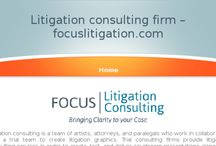 Focus Litigation Consulting / Focus Litigation Consulting is a national jury research and trial consulting firm with decades of experience assisting attorneys, in-house counsel, insurers, governmental entities, and companies in civil and criminal cases across the country.