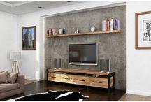 TV Üniteleri - Endustriyel Mobilya